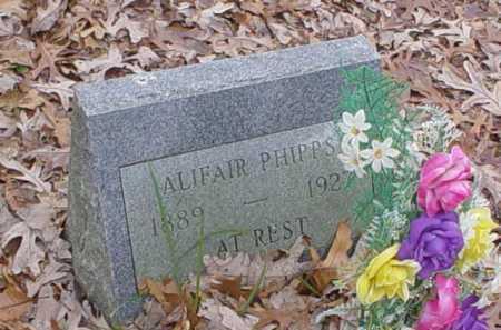 PHIPPS, ALIFAIR - Scioto County, Ohio   ALIFAIR PHIPPS - Ohio Gravestone Photos