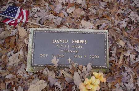 PHIPPS, DAVID - Scioto County, Ohio   DAVID PHIPPS - Ohio Gravestone Photos