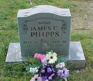 PHIPPS, JAMES C. - Scioto County, Ohio   JAMES C. PHIPPS - Ohio Gravestone Photos