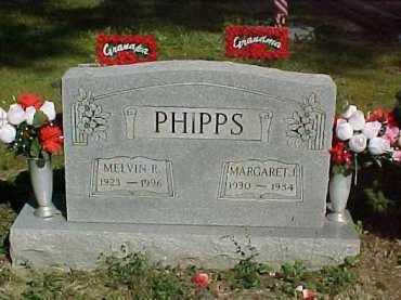PHIPPS, MARGARET J. - Scioto County, Ohio | MARGARET J. PHIPPS - Ohio Gravestone Photos