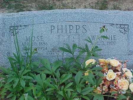 PHIPPS, WANNIE - Scioto County, Ohio | WANNIE PHIPPS - Ohio Gravestone Photos