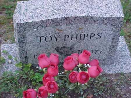PHIPPS, TOY - Scioto County, Ohio | TOY PHIPPS - Ohio Gravestone Photos