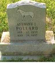 POLLARD, ANTHONY L. - Scioto County, Ohio | ANTHONY L. POLLARD - Ohio Gravestone Photos