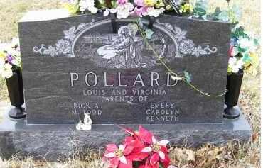 POLLARD, LOUIS - Scioto County, Ohio | LOUIS POLLARD - Ohio Gravestone Photos