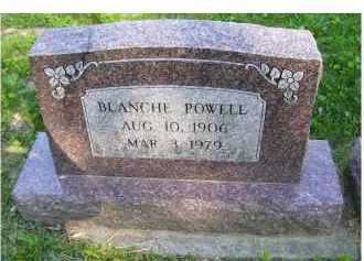 POWELL, BLANCHE - Scioto County, Ohio | BLANCHE POWELL - Ohio Gravestone Photos