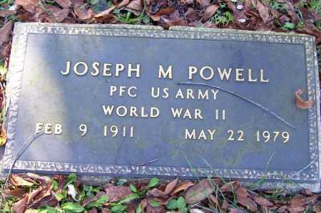 POWELL, JOSEPH M. - Scioto County, Ohio   JOSEPH M. POWELL - Ohio Gravestone Photos