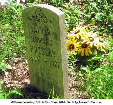 PRESLEY, HOWARD - Scioto County, Ohio | HOWARD PRESLEY - Ohio Gravestone Photos