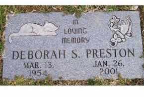 PRESTON, DEBORAH S. - Scioto County, Ohio | DEBORAH S. PRESTON - Ohio Gravestone Photos