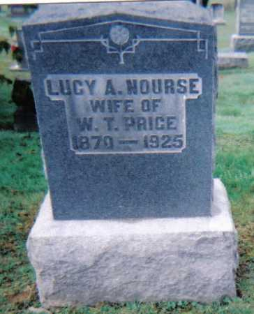 NOURSE PRICE, LUCY A. - Scioto County, Ohio | LUCY A. NOURSE PRICE - Ohio Gravestone Photos