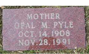 PYLE, OPAL M. - Scioto County, Ohio | OPAL M. PYLE - Ohio Gravestone Photos