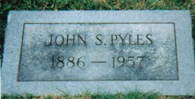 PYLES, JOHN S. - Scioto County, Ohio | JOHN S. PYLES - Ohio Gravestone Photos