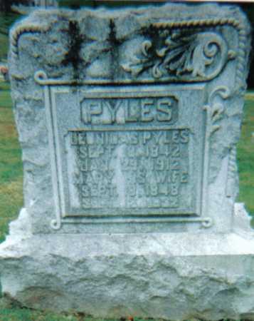 PYLES, MARY - Scioto County, Ohio   MARY PYLES - Ohio Gravestone Photos