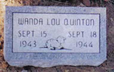 QUINTON, WANDA LOU - Scioto County, Ohio | WANDA LOU QUINTON - Ohio Gravestone Photos