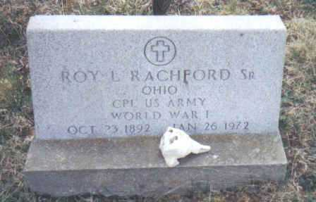 RACHFORD, ROY L. SR. - Scioto County, Ohio   ROY L. SR. RACHFORD - Ohio Gravestone Photos