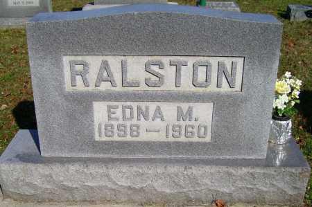 RALSTON, EDNA M. - Scioto County, Ohio | EDNA M. RALSTON - Ohio Gravestone Photos