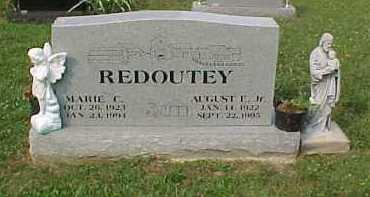 MONTAVON REDOUTEY, MARIE C. - Scioto County, Ohio   MARIE C. MONTAVON REDOUTEY - Ohio Gravestone Photos