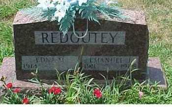 REDOUTEY, EDNA - Scioto County, Ohio | EDNA REDOUTEY - Ohio Gravestone Photos