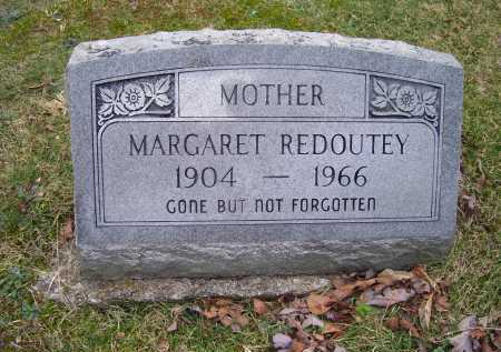 REDOUTEY, MARGARET - Scioto County, Ohio | MARGARET REDOUTEY - Ohio Gravestone Photos