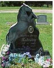 REDOUTEY, MATTHEW STEVEN - Scioto County, Ohio | MATTHEW STEVEN REDOUTEY - Ohio Gravestone Photos