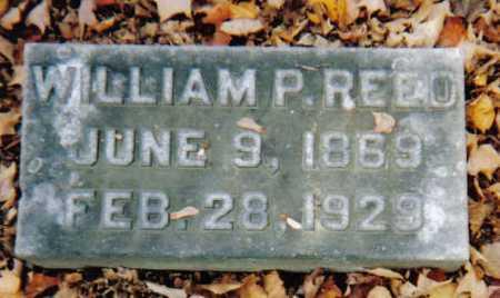 REED, WILLIAM P. - Scioto County, Ohio | WILLIAM P. REED - Ohio Gravestone Photos