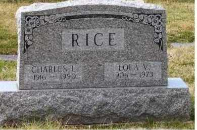 RICE, LOLA V. - Scioto County, Ohio | LOLA V. RICE - Ohio Gravestone Photos