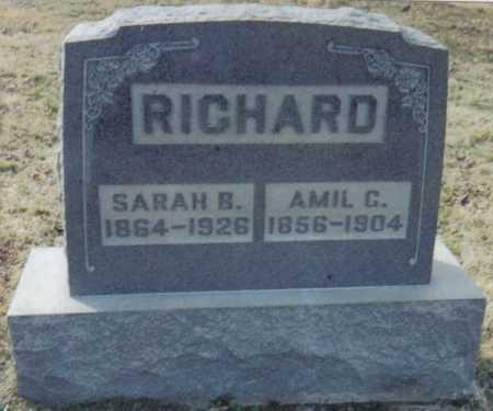RICHARD, SARAH B. - Scioto County, Ohio | SARAH B. RICHARD - Ohio Gravestone Photos