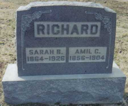 RICHARD, AMIL C. - Scioto County, Ohio | AMIL C. RICHARD - Ohio Gravestone Photos