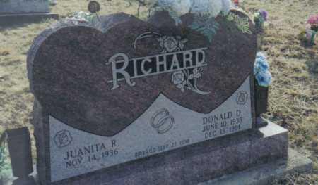 RICHARD, DONALD D. - Scioto County, Ohio | DONALD D. RICHARD - Ohio Gravestone Photos