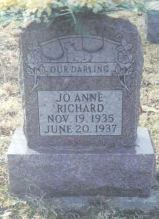 RICHARD, JO ANNE - Scioto County, Ohio   JO ANNE RICHARD - Ohio Gravestone Photos