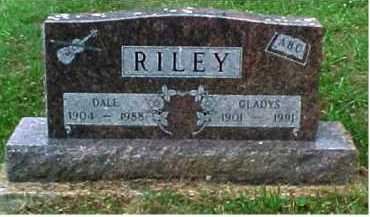 RILEY, DALE - Scioto County, Ohio   DALE RILEY - Ohio Gravestone Photos
