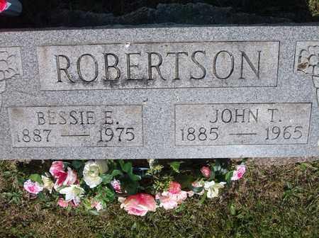 SHIVELEY ROBERTSON, BESSIE E - Scioto County, Ohio | BESSIE E SHIVELEY ROBERTSON - Ohio Gravestone Photos