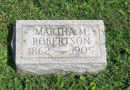 ROBERTSON, MARTHA - Scioto County, Ohio   MARTHA ROBERTSON - Ohio Gravestone Photos