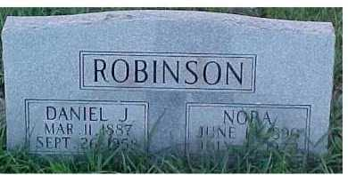 ROBINSON, NORA - Scioto County, Ohio | NORA ROBINSON - Ohio Gravestone Photos