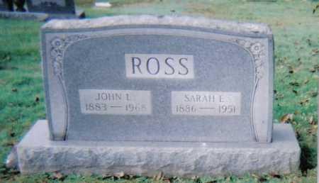 ROSS, SARAH E. - Scioto County, Ohio | SARAH E. ROSS - Ohio Gravestone Photos