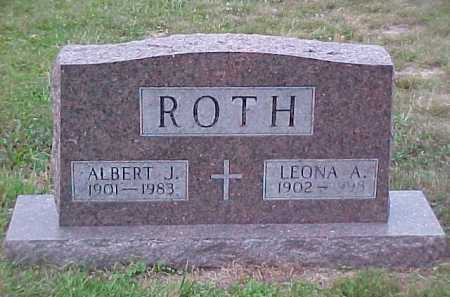 ROTH, ALBERT J. - Scioto County, Ohio | ALBERT J. ROTH - Ohio Gravestone Photos