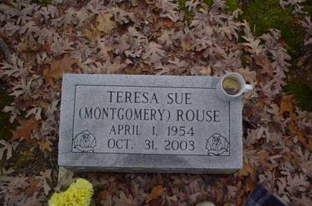 MONTGOMERY ROUSE, TERESA SUE - Scioto County, Ohio | TERESA SUE MONTGOMERY ROUSE - Ohio Gravestone Photos