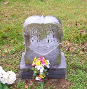 RUSSELL, ADA MAY - Scioto County, Ohio   ADA MAY RUSSELL - Ohio Gravestone Photos