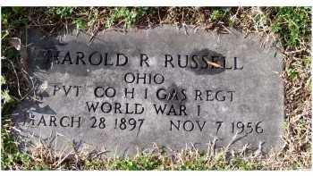 RUSSELL, HAROLD R. - Scioto County, Ohio   HAROLD R. RUSSELL - Ohio Gravestone Photos