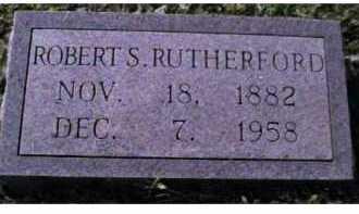 RUTHERFORD, ROBERT S. - Scioto County, Ohio | ROBERT S. RUTHERFORD - Ohio Gravestone Photos