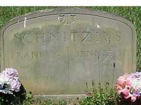 SCHNITZIUS, FRANK G. - Scioto County, Ohio | FRANK G. SCHNITZIUS - Ohio Gravestone Photos