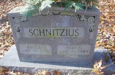 SCHNITZIUS, PAUL I. - Scioto County, Ohio | PAUL I. SCHNITZIUS - Ohio Gravestone Photos
