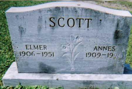 SCOTT, ANNES - Scioto County, Ohio | ANNES SCOTT - Ohio Gravestone Photos
