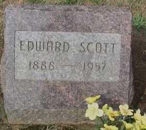 SCOTT, EDWARD - Scioto County, Ohio | EDWARD SCOTT - Ohio Gravestone Photos