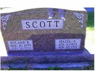 SCOTT, HAZEL A. - Scioto County, Ohio   HAZEL A. SCOTT - Ohio Gravestone Photos