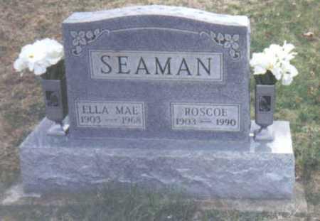 SEAMAN, ELLA MAE - Scioto County, Ohio   ELLA MAE SEAMAN - Ohio Gravestone Photos