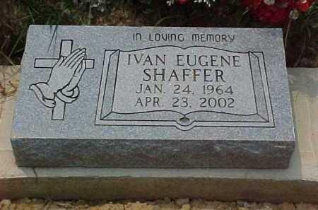 SHAFFER, IVAN EUGENE - Scioto County, Ohio   IVAN EUGENE SHAFFER - Ohio Gravestone Photos