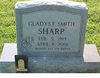 SMITH SHARP, GLADYS F. - Scioto County, Ohio | GLADYS F. SMITH SHARP - Ohio Gravestone Photos