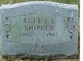 SHIPLEY, RUFUS L. - Scioto County, Ohio | RUFUS L. SHIPLEY - Ohio Gravestone Photos