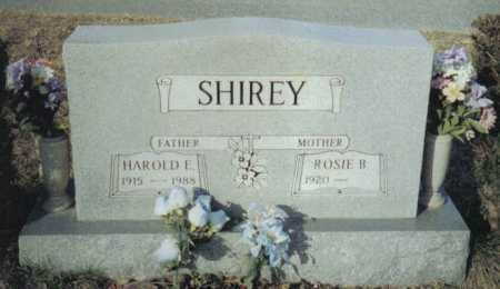 SHIREY, ROSIE B. - Scioto County, Ohio | ROSIE B. SHIREY - Ohio Gravestone Photos