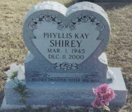 SHIREY, PHYLLIS KAY - Scioto County, Ohio | PHYLLIS KAY SHIREY - Ohio Gravestone Photos